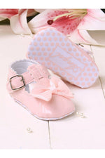 Pink Girls Mary Jane Booties