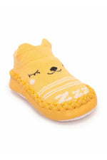 Yellow Infant Kids Booties