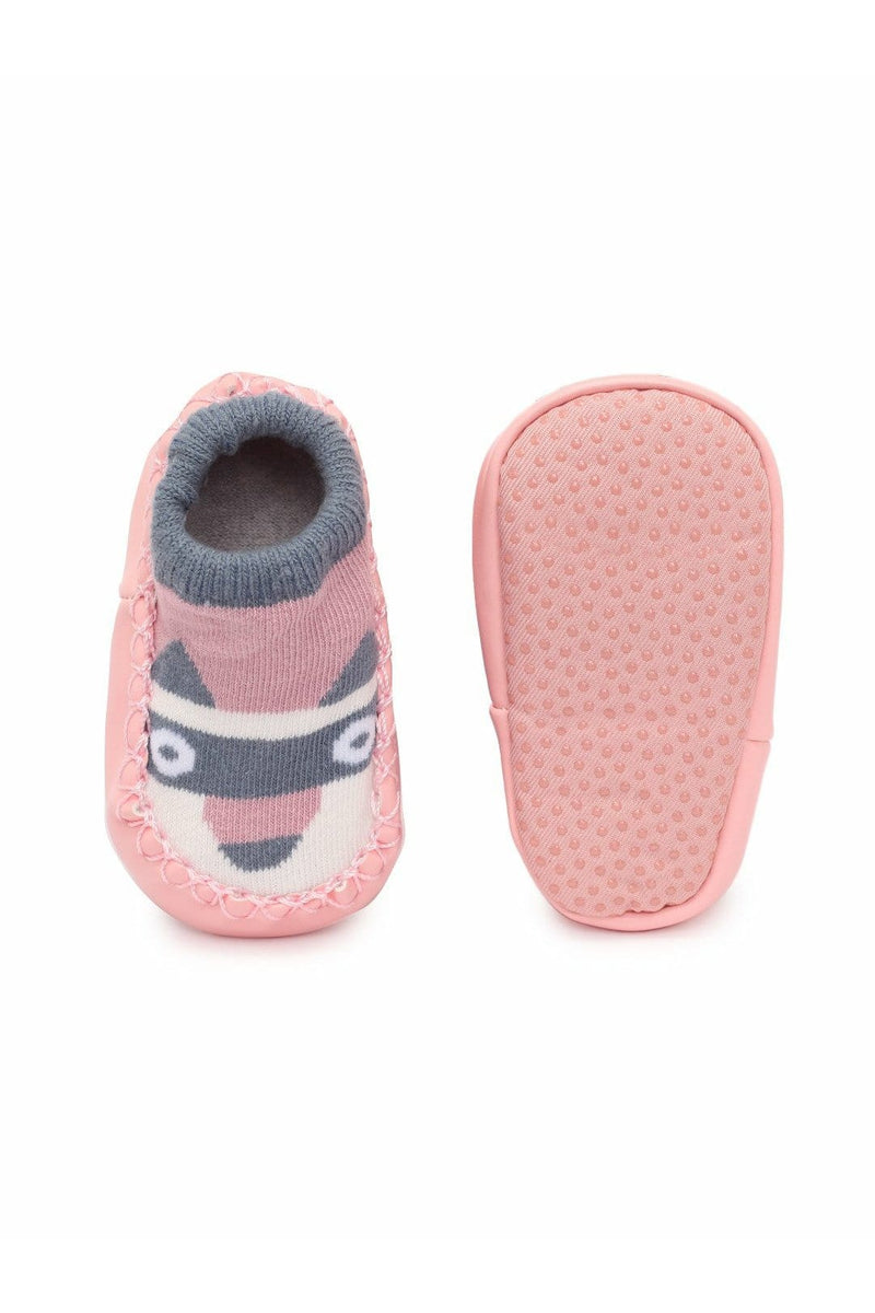 Pink Infant Girls Booties