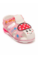 Light-Pink Girls Sandals
