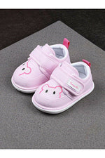 Light -Pink Infant Girls Booties