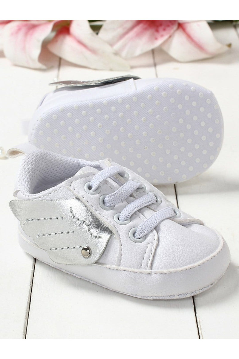 White Infant Kids Booties