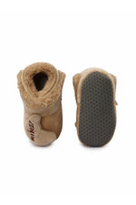 Beige Infant Kids Booties
