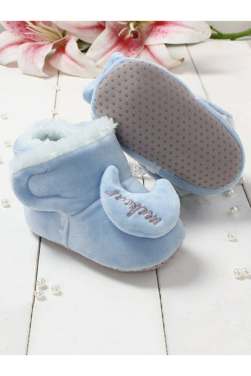 Blue Infant Kids Booties