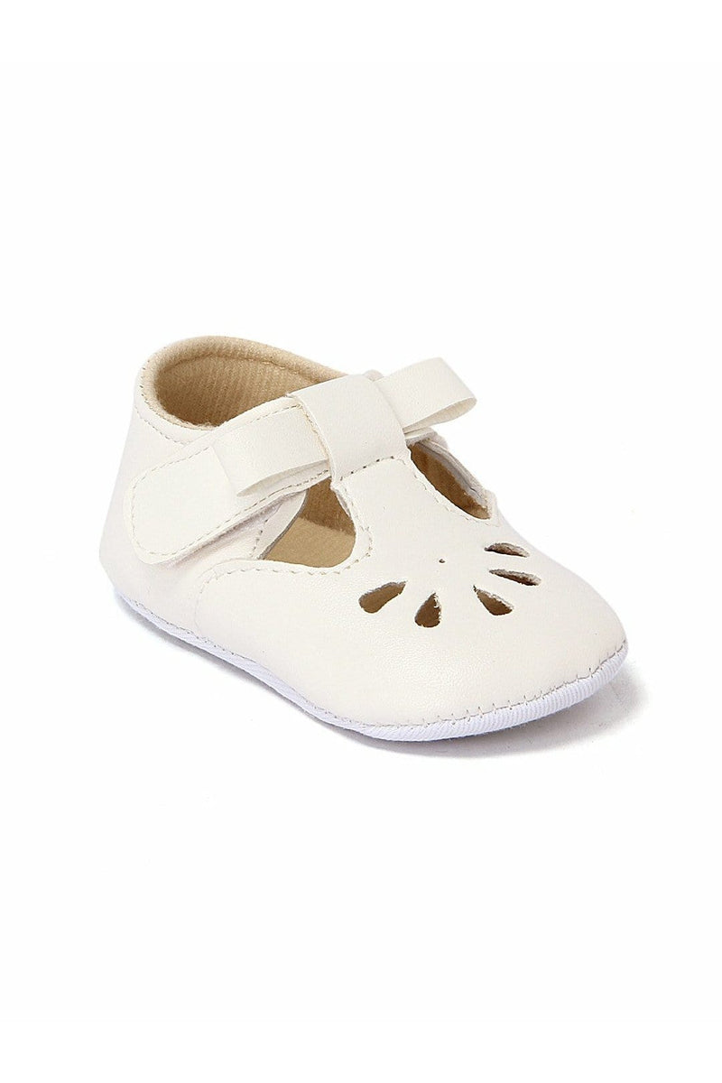 White Infant Girls Booties
