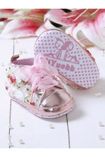 Light-Pink Infant Girls Booties