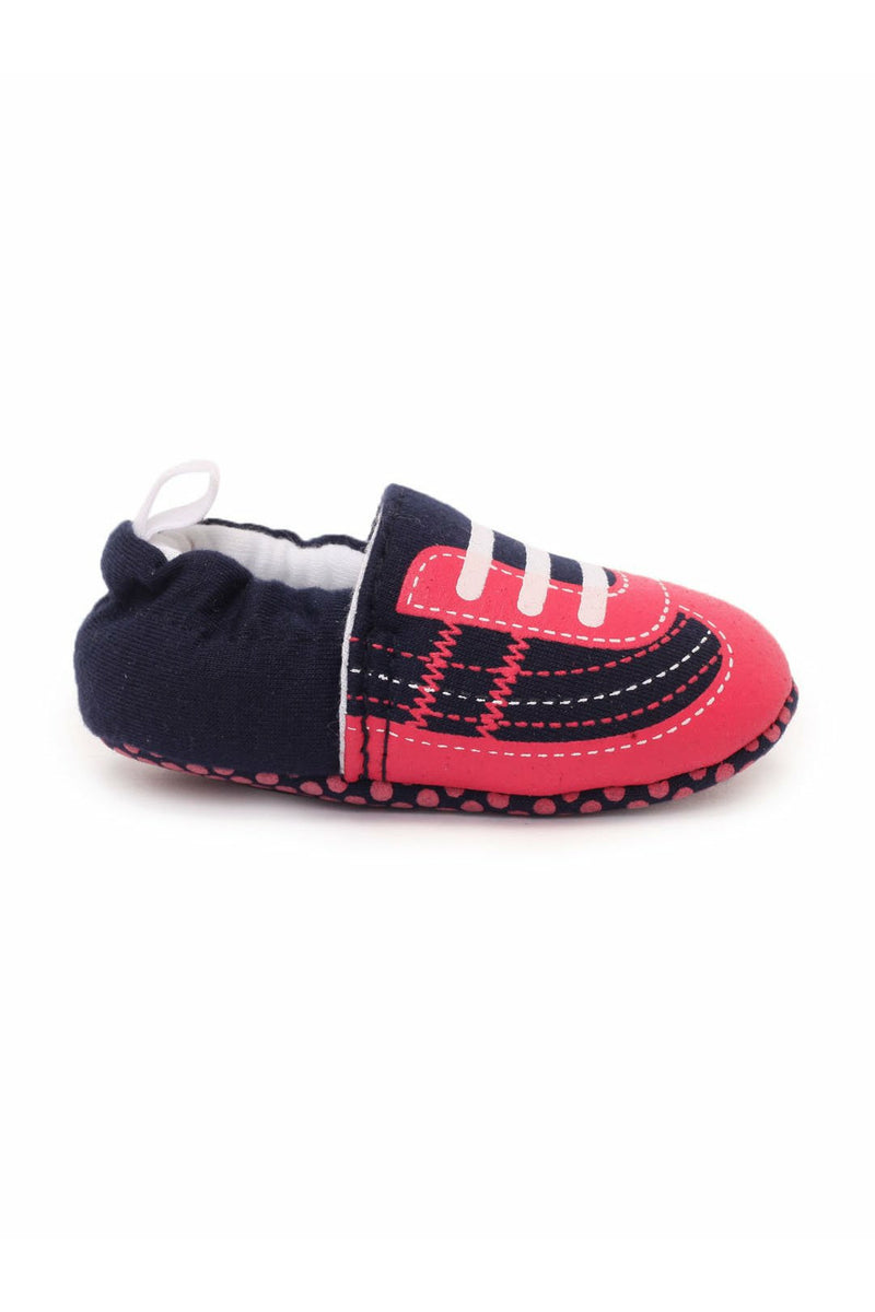 Black Infant Kids Booties