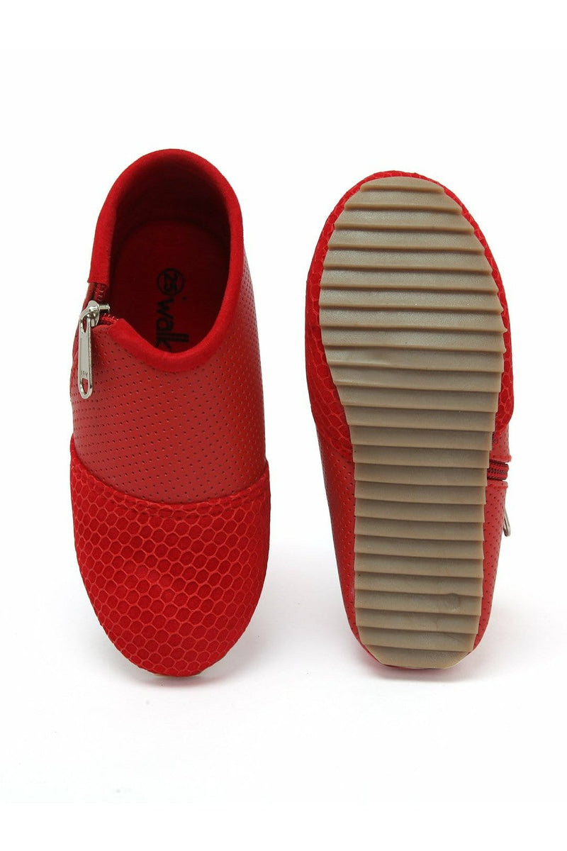 Red Girls Slip On Shoes