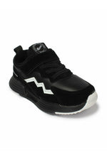 Black and White Kids Sneakers