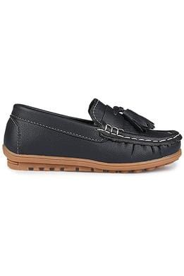Navy Boys Loafer
