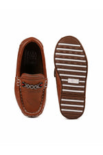 Tan  Boys Loafer