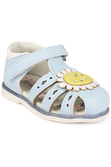 Blue Girls Sandals