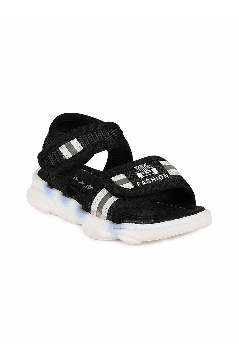 White and White Boys Sandals