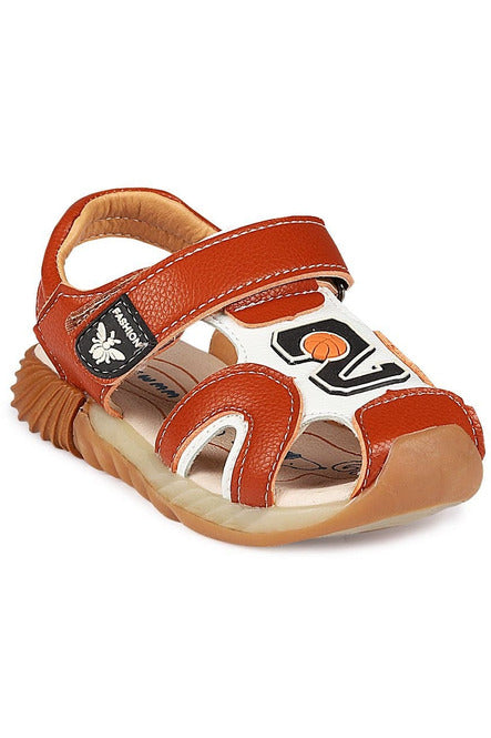 Brown Boys Sandals