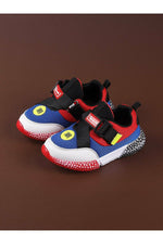 Red and Blue Kids Sneakers