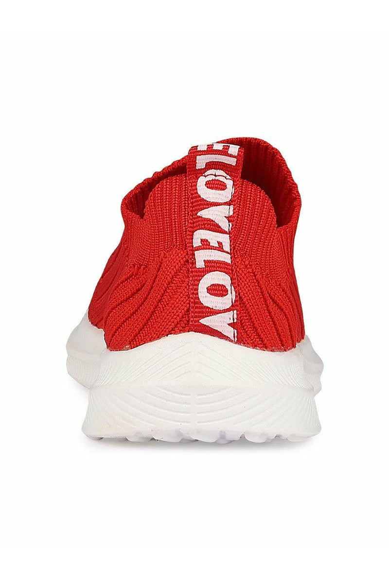Red Kids Sneakers
