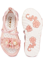 Light and Pink Girls Sandals