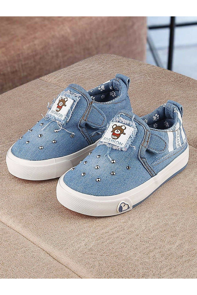 Blue Kids Sneakers