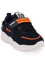 Navy Kids Sneakers