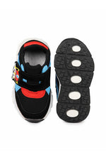 Black Kids LED Sneakers