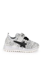 Grey Kids LED Sneakers