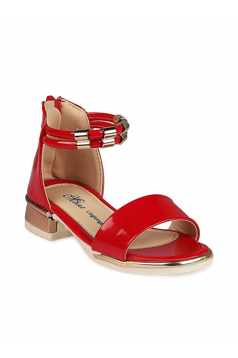 Red Girls Sandals