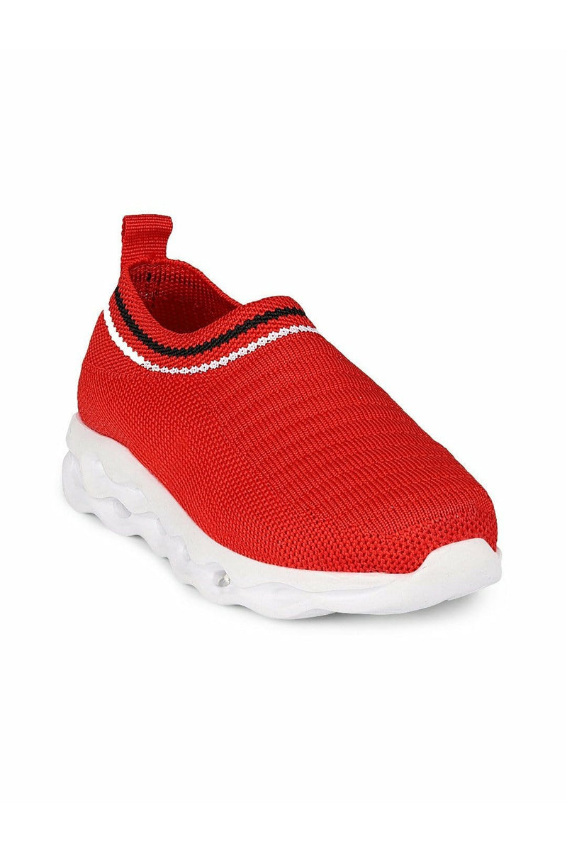 Red Kids LED Sneakers