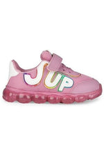 Pink Girls LED Sneakers