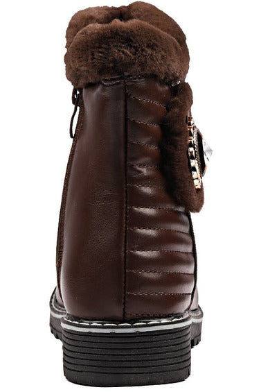 Brown Girls Boots