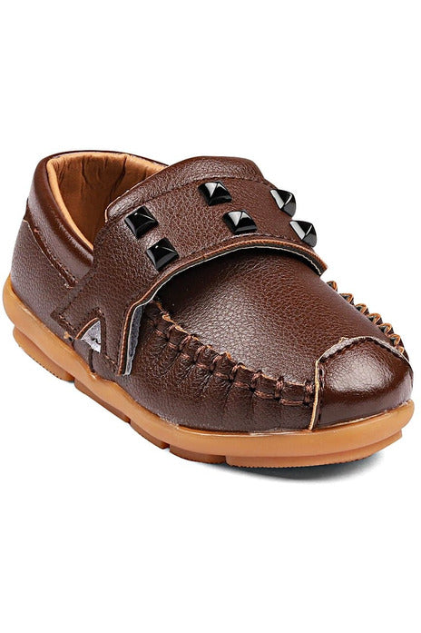 Brown Boys Loafers