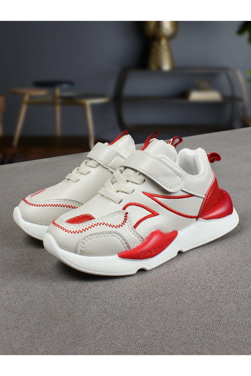 White Kids Sneakers