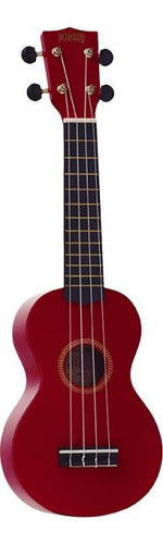 Mahalo MR1 Rainbow Series Soprano Ukulele 2010s Red