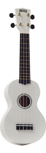 Mahalo MR1 Rainbow Series Soprano Ukulele 2010s White