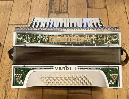 Hohner Verdi 1 1960's Celtic Green