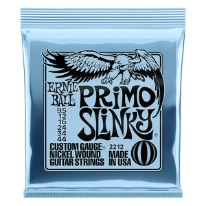 Ernie Ball Primo Slinky Nickel Wound Electric Guitar Strings (9.5 - 44)
