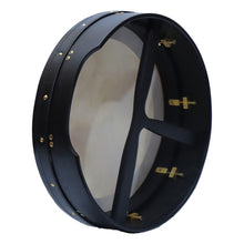 "Load image into Gallery viewer, Muzikkon 14""x 4"" Heartland Bodhran Deep Rim Tunable"