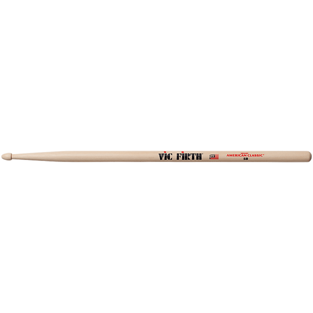 Vic Firth 5B American Classics Wood Tip Drum Stick Pair