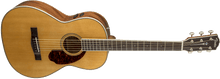 Load image into Gallery viewer, Fender PM-2 Standard Parlor Electro-Acoustic Guitar Natural