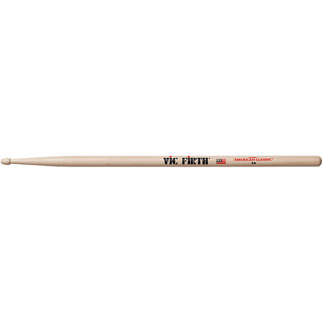 Vic Firth American Classic 5A Wood Tip Drum Stick Pair