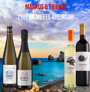 Zypern meets Rheingau | Markus & Friends | Onlineprobe am 03.06.2021