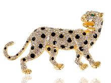 Load image into Gallery viewer, Wild Safari Cheetah Leopard Cat Pin Brooch