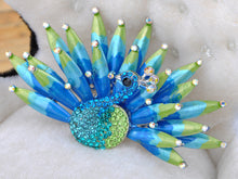Load image into Gallery viewer, Shine Enamel Peacock Bird Brooch Pin