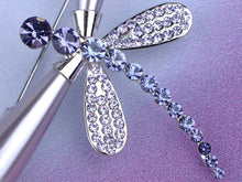 Load image into Gallery viewer, Shine Purple Pearl Dragonfly Brooch Pin