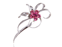 Load image into Gallery viewer, Elements Rose Pink Deate Dainty Flower Swirl Pin Brooch
