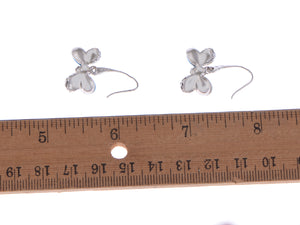 Swarovski Crystal Butterfly Dangle Earrings