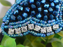 Load image into Gallery viewer, Hand Made Bright Blue Butterfly Headband Hair Piece