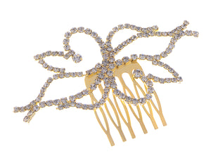 Bridal Jewelry Flower Head Piece Hair Comb