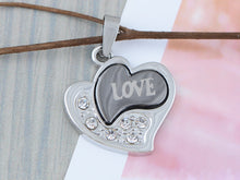 Load image into Gallery viewer, Stainless Steel Hi Abstract Heart Love Necklace Pendant