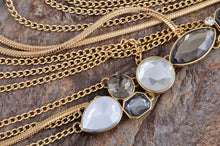 Load image into Gallery viewer, Cascade Layer Necklace Smoke Trend Necklace