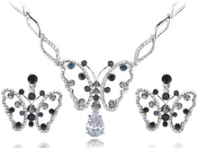 Load image into Gallery viewer, Montana Element Spotted Butterfly Earring Necklace Set